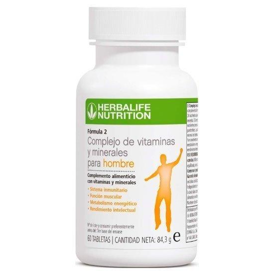 Complejo de vitaminas y minerales para hombres