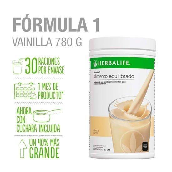 formula 1 vainilla 780gm