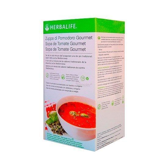 sopa de tomate groumet herbalife