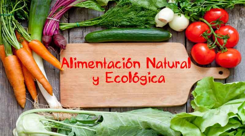 alimentacion con productos ecologicos y naturales